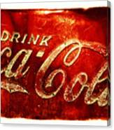 Antique Soda Cooler 2a Canvas Print