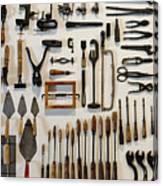 Antique Tools Canvas Print