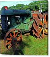 Antique Tractor 3 Canvas Print