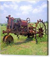 Antique Tractor  Canvas Print