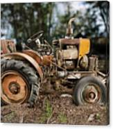 Antique Tractor Canvas Print