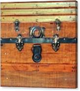 Antique Trunk Canvas Print