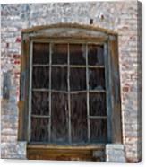 Antique Window Canvas Print