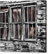 Antique Windows Canvas Print