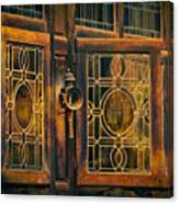 Antique Windows Canvas Print