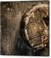 Antique Wine Barrel Cork Canvas Print