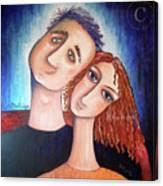 Anto And Higo Canvas Print