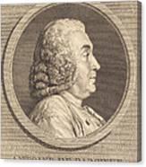 Antoine De Parcieux Canvas Print