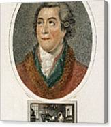Antoine-laurent Lavoisier, French Canvas Print