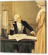 Antoine-laurent Lavoisier Canvas Print