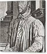 Antoine Perrenot De Granvelle, 1517 To Canvas Print