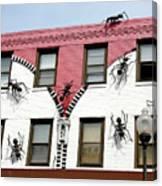 Ants At Zipperhead Canvas Print