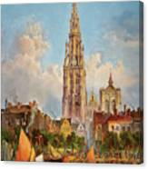 Antwerp Canvas Print