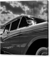 Any Ford In A Storm Canvas Print
