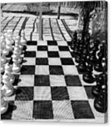 Anyone For Chess Canvas Print