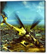 Apache Ai Assault - Operation Osama Canvas Print