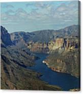 Apache Lake Panorama Canvas Print