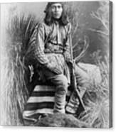 Apache Leader, 1885 Canvas Print