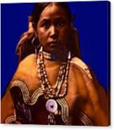 Apache Maiden Canvas Print