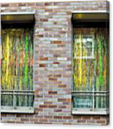 Apartment Window Canvas Print