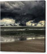 Apocalyptic Clouds Over The Atlantic Canvas Print