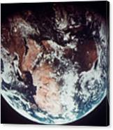 Apollo 11: Earth Canvas Print