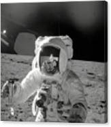 Apollo 12 Moonwalk Canvas Print
