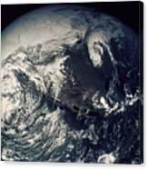 Apollo 16: Earth Canvas Print