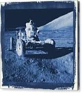 Apollo 17 Lunar Rover - Nasa Canvas Print