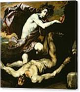 Apollo And Marsyas Canvas Print