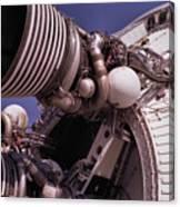 Apollo Rocket Engine Canvas Print