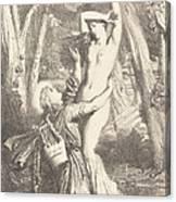Apollon Et Daphne Canvas Print
