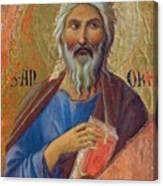 Apostle Andrew 1311 Canvas Print