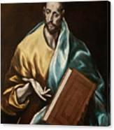 Apostle Saint James The Less Canvas Print