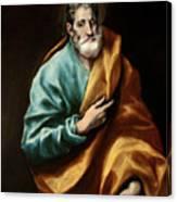 Apostle Saint Peter Canvas Print