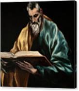 Apostle Saint Simon Canvas Print