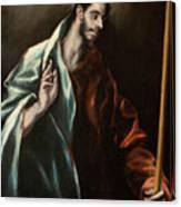 Apostle Saint Thomas Canvas Print