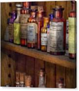 Apothecary - Inside The Medicine Cabinet  Canvas Print