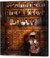 Apothecary - Just The Usual Selection Canvas Print