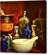 Apothecary - Tools Of The Pharmacist Canvas Print
