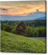 Appalachian Evening Canvas Print
