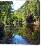 Appalachian Mirror II Canvas Print