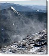 Appalachian Trail - Franconia Ridge-white Mountains New Hampshire Canvas Print