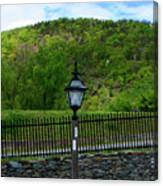 Appalachian Trail In West Virginia Goes Through Harpers Ferry Canvas Print