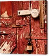 Appealing Barn Door Canvas Print