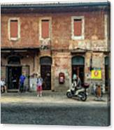 Appia Antica Break Canvas Print