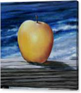 Apple By The Sea Canvas Print