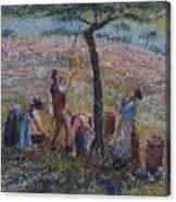 Apple Harvesting Canvas Print