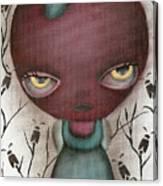 Apple Lady Canvas Print