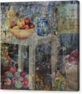Apple Montage Canvas Print
